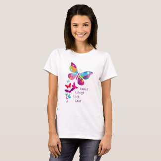 Amour vivant de rire de danse - le T-shirt des