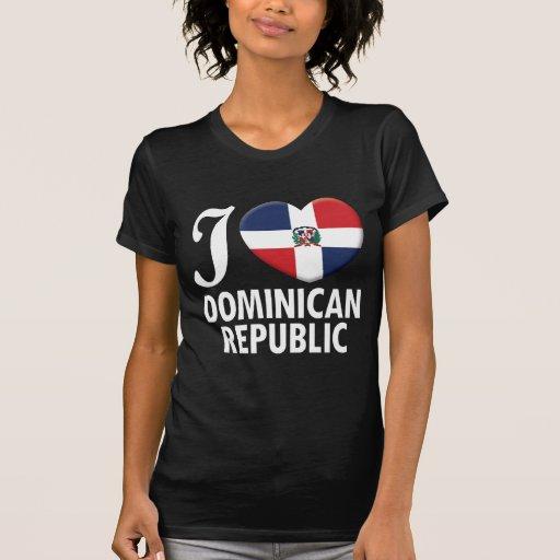 Amour W de la République Dominicaine T-shirts