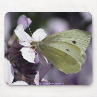 Amoureux de les jardins Mousepad de papillon et de Tapis De Souris