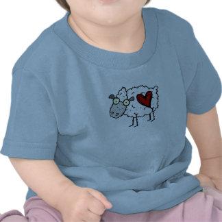 Amoureux de plouc - amour de moutons t-shirt
