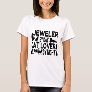 Amoureux des chats de bijoutier t-shirt