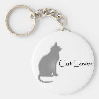 Amoureux des chats porte-clés