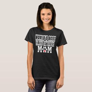 Amoureux des chiens de maman du golden retriever t-shirt