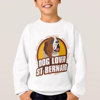 Amoureux des chiens de St Bernard Sweatshirt