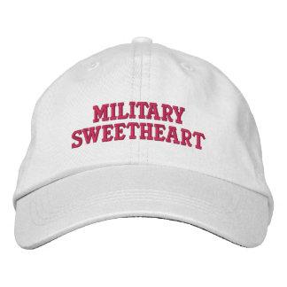 Amoureux militaire casquette brodée