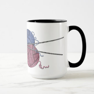 Amours de grand-maman pour tricoter la tasse de