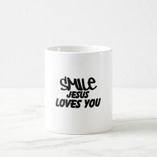 Amours de Jésus de sourire que vous attaquez Mug
