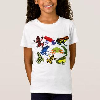 Amphibies de grenouille d'enfants d'enfants T-Shirt
