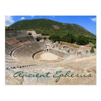 Amphithéâtre dans le jour moderne antique Turquie Carte Postale