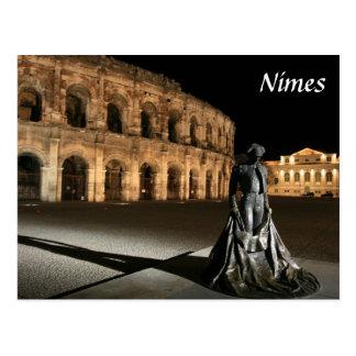 Amphithéâtre romain Nîmes Carte Postale