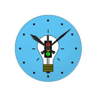 Ampoule de feu d'arrêt horloge ronde