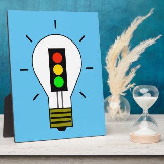 Ampoule de feu d'arrêt photos sur plaques