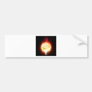 Ampoule de Sun Autocollant De Voiture