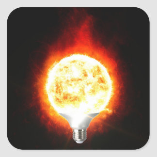 Ampoule de Sun Sticker Carré