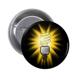 Ampoule d'épargnant d'énergie - une idée lumineuse badge