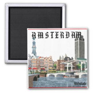 AMSTERDAM, HOLLANDE MAGNET CARRÉ