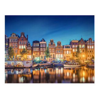 Amsterdam la carte postale néerlandaise