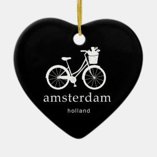 Amsterdam Ornement Cœur En Céramique