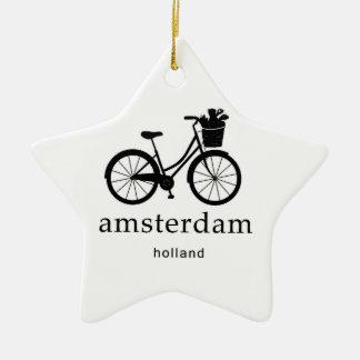 Amsterdam Ornement Étoile En Céramique