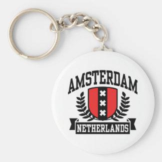Amsterdam Porte-clé Rond
