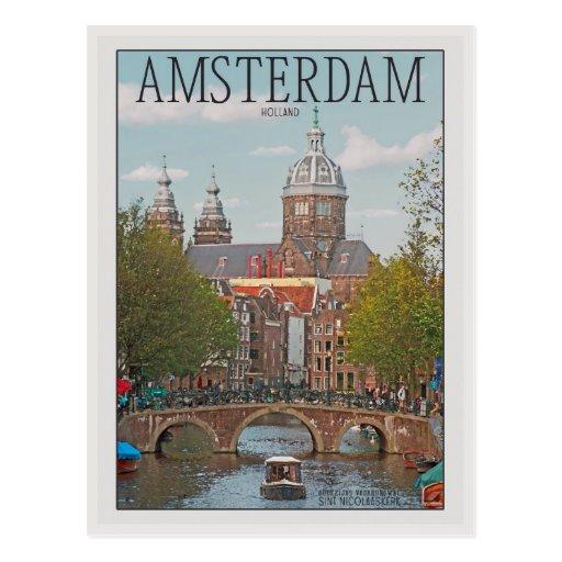 Amsterdam - Sint Nicolaaskerk Cartes Postales