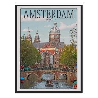 Amsterdam - Sint Nicolaaskerk Carte Postale
