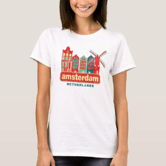 Amsterdam vintage Pays-Bas T-shirt