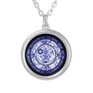 Amulette spirituelle angélique de protection pendentif rond