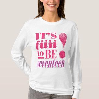 Amusement 2 B 17-Magenta T-shirt