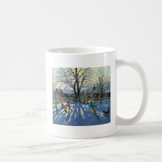 Amusement dans la neige Tideswell Derbyshire Mug