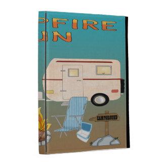 Amusement de camping coques iPad folio