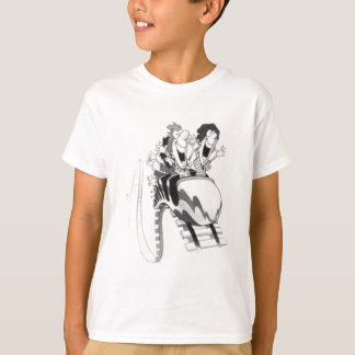 Amusement de montagnes russes t-shirt