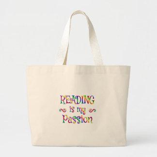 Amusement de passion de lecture grand sac