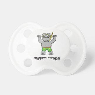 amusement d'hippopotame de l'eau tétine
