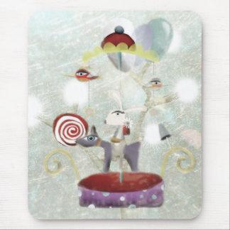 Amusement doux Mousepad de carrousel Tapis De Souris