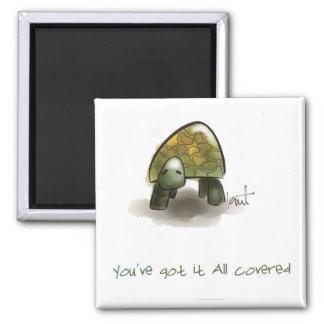 Amusement et magnet inspiré de tortue