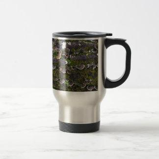 amusement moussu de champignon mug de voyage