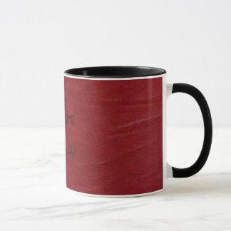 Amusement occidental ! Tasse de café simili cuir