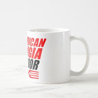 AMW tasse de café de 11 onces avec le logo rouge