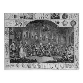 Analyse de beauté, plat II, 1753 Carte Postale