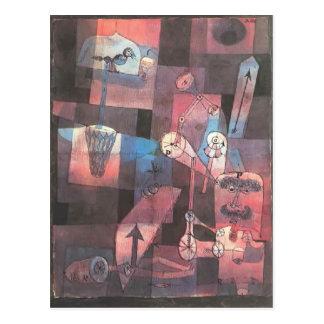 Analyse de Paul Klee- des perversités diverses Carte Postale
