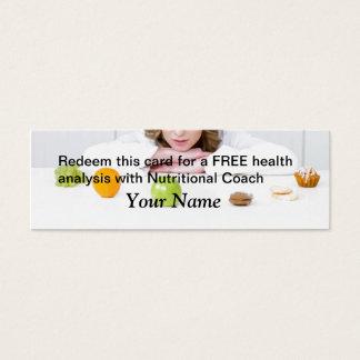 Analyse LIBRE de santé Mini Carte De Visite