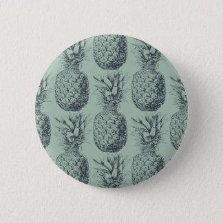 Ananas, conception de motif de fruit tropical badges