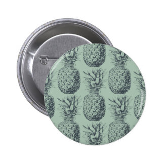 Ananas, conception de motif de fruit tropical badges