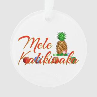 Ananas de Hawaïen de Mele Kalikimaka