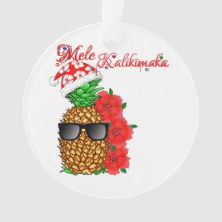 Ananas de Noël de Mele Kalikimaka