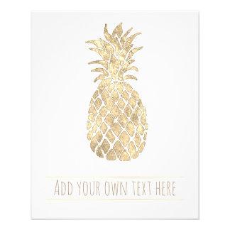 ananas d'or tropical prospectus 11,4 cm x 14,2 cm