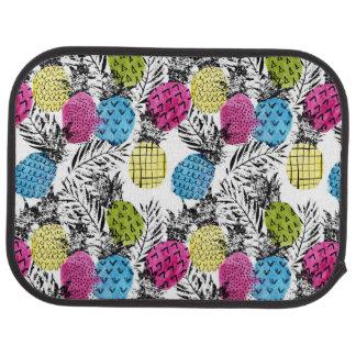 Ananas et palmettes d'art de bruit tapis de voiture