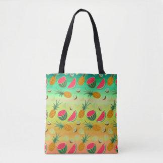 Ananas Fourre-tout de pastèque de fruit tropical Sac