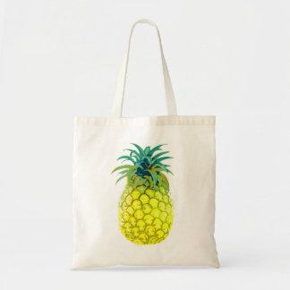 Ananas jaune fruité Fourre-tout Sac Fourre-tout